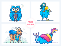 Stickers Freebie