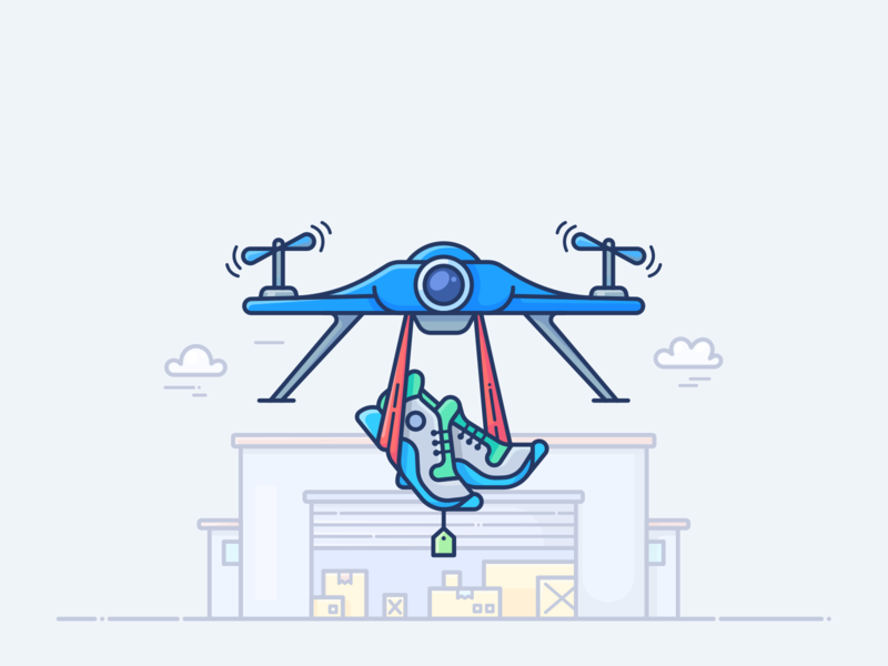 How To Quickly Launch Dropshipping Business With Shopify theme wordpress outline post blog article shopify store shop launch business dropshipping icon vector illustration house shoes boots drone