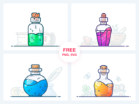 Potions Freebie Vol. 1