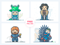 Game of Thrones Freebie Vol. 1