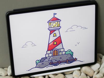 Lighthouse Speedpaint