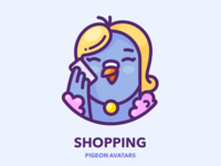 Shopping Pigeon