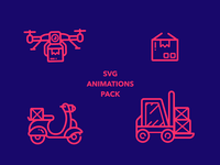Animated Ecommerce Icons