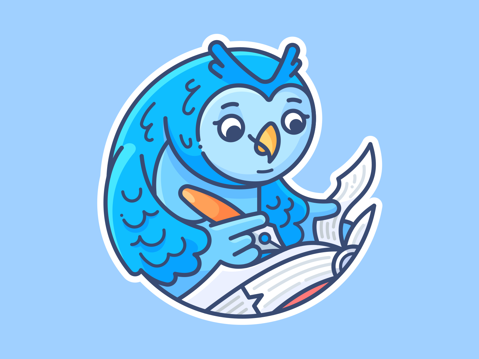 3 owl writer
