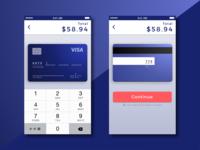 DailyUI #002 — Credit Card Checkout