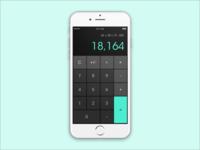 DailyUI #004 — Calculator