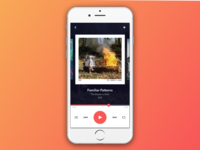 DailyUI #009 — Music Player