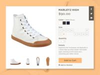 DailyUI #012 — E-Commerce Shop (Single Item)