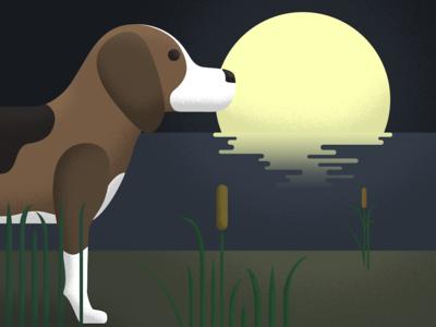 Moonlight Beagle