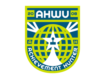 Achievement Hunter Space Badge