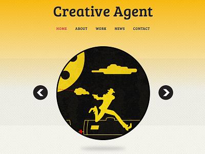 Creative Agent theme web responsive mobile
