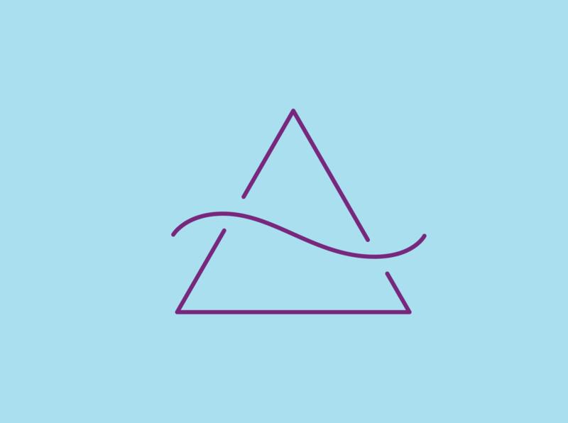 Travessia Studio Symbol logotype branding logo design vector handlettering lettering artist graphic design typography lettering