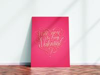 Valentine's Day Poster/Postcard