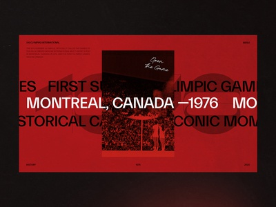 1976 Summer Olympics - Montréal