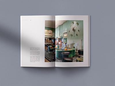 Fairmont Magazine designer identity magazine book logo branding black grid typography concept minimal design