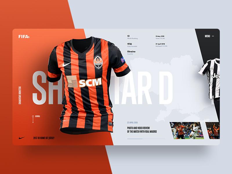 99ecda3da FCSD Jersey Home Kit web ux ui sport soccer minimal jersey grid fifa design  color 2018