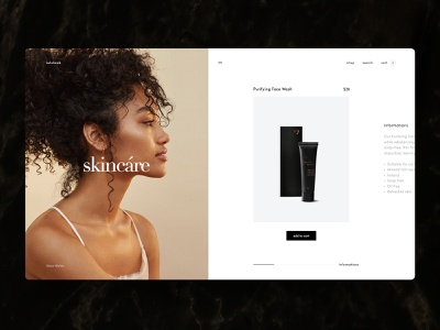 Sulubook — Product cards photo black brand product desktop grid typography interaction concept web minimal ux design ui