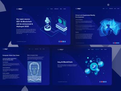 Artificial Intelligence  I  AR/VR Website