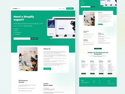 Shopify Design shopify webshops shopify app business app shopping app aboutus book a meeting shopify partner develop app design shopping uxdesign ecommerce website design landingpage pricing shopify theme shopify template shopify design shopify landing page shopify