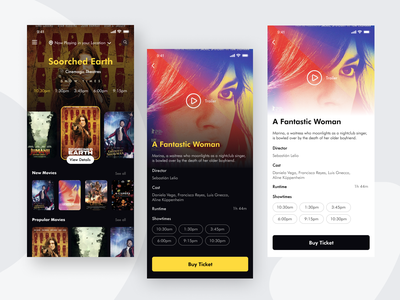 Movie App map location app whitespace details page 2020 ios dashboard problem solving uxproblem director movie player movie poster movies showtime bendingspoons movie schedule buy tickets booking app movie app