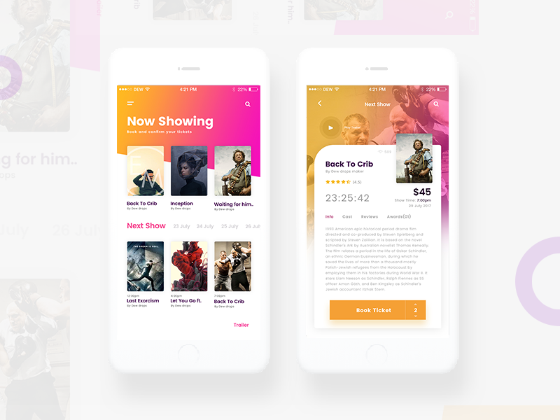 Blockbuster Movie App