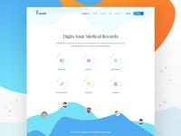 Health App Landing Page