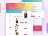 Women Collection I Ecommerce web