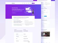 Evaluation Form  I  Landing Page