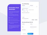 Evaluation Form Design