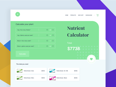 Nutrient Calculator