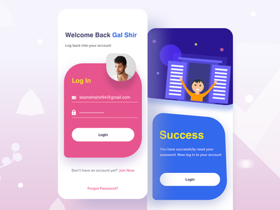 Come back on Asana  I  Task manager app top ui designer message victor no matches onboarding ui signup page sign in page dashboard ux illustration 2019 trend website design landing page welcome page creative success page task managment app android app ios login