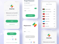 Login & Registration Process : Averto App