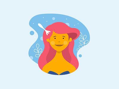 Disney Avatar - Ariel iconography character ariel disney vector art digital art vector avatar