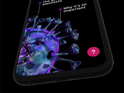 #StayTheFuckHome video informational design ios ux concept ui app home office stayhome staythefuckhome coronavirus corona