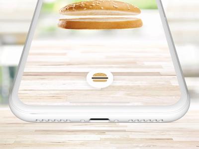Burger Menu - Preview tasty micro interaction protopie prototype interaction animation configurator burger design ios ux concept ui app