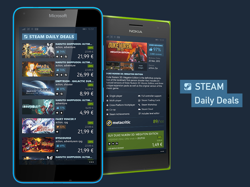 00 wp steam daily deals lumias shot