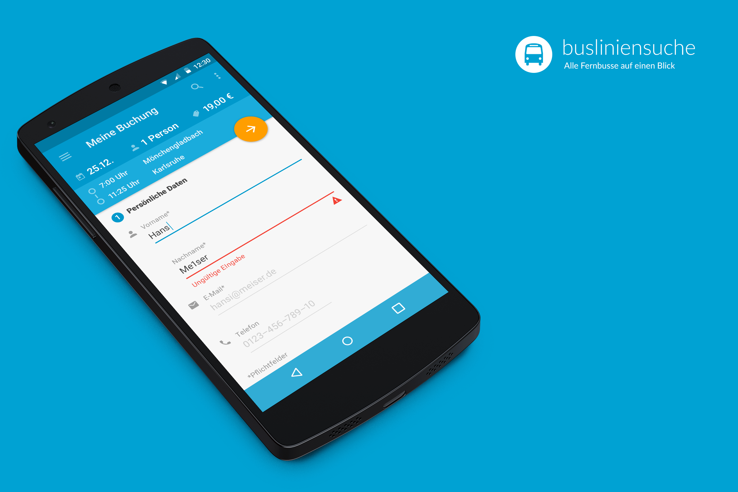 Busliniensuche.de android booking data