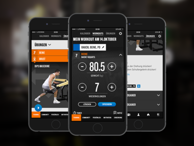 Lifepark Portal - Fitness App (personal trainer) - Mobile