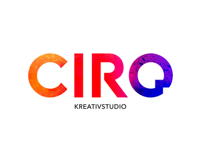 CIRQ - Kreativstudio gradients bubbles typography design flat ui branding agency creative website animated video hero logo