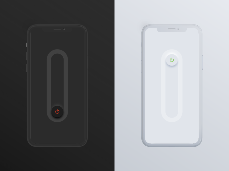 Dynamic Neumorphism Lightswitch neumorphism ios shadow dynamic switch light dark neomorphism ux concept ui app