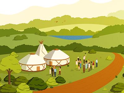 Ecosystem Restoration Camps