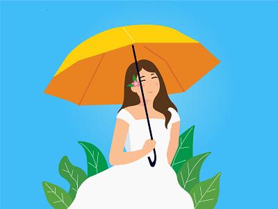 Beautiful In White 0 bride beautifulinwhite animation illustration