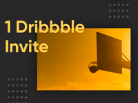 Dribbble Invite - Only 1 Left now