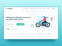 Two Wheeler Insurance - UI Design
