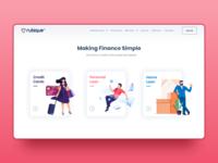 Landing Page Design - UI Design