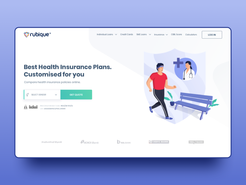 Health Insurance Ui Design By Prorajat For Procreator On Dribbble