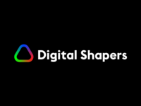 Digital Shapers logo concept 1