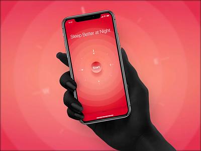Formula teaser design apple ui ux audio breather color breathing app mobile ios ux ui