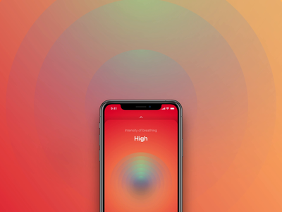 Formula animation end of the session design apple ui ux audio breather color breathing app mobile ios ux ui