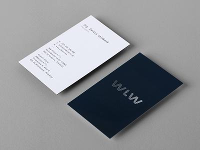 WLW Group studiogoat branddesign customtype silver navyblue hotstamping branding identity works locksmith welding